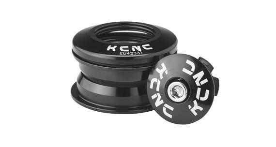 """(KCNC Kudos-Q1 - Jeu de direction semi intégré 1 1/8"""" - noir"""